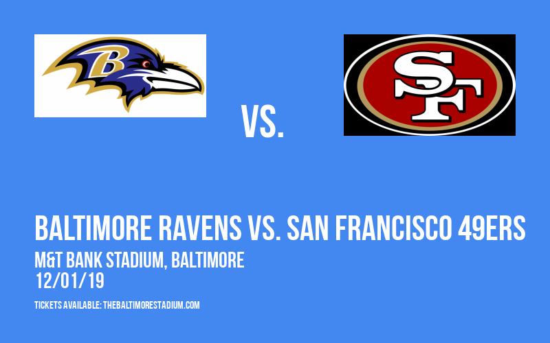 PARKING: Baltimore Ravens vs. San Francisco 49ers at M&T Bank Stadium
