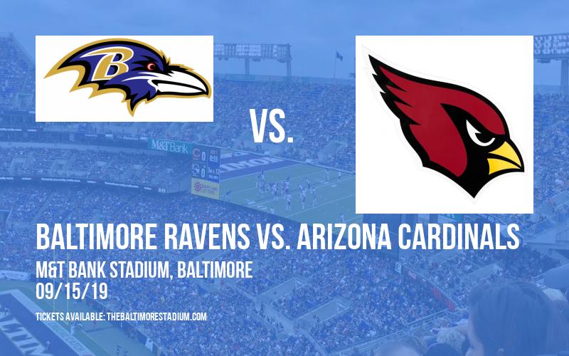 Baltimore Ravens vs. Arizona Cardinals at M&T Bank Stadium