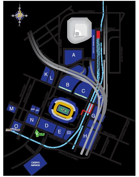 2020 Baltimore Ravens Season Parking Passes (Includes Parking Passes To All Regular Season Home Games) at M&T Bank Stadium